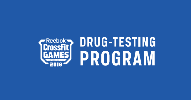 2018 CrossFIt Games Drug Testing Policy