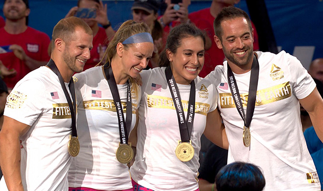 2018 CrossFit Games Team Winners – The Fittest on Earth
