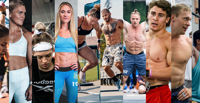 Top 10 - Final Five 2020 CrossFit Games athletes